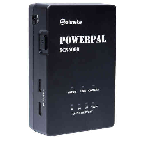 Solmeta PowerPAL: mobile charger for Canon LP-E6